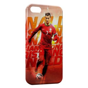 Coque iPhone 5/5S/SE Cristiano Ronaldo Football 53