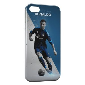 Coque iPhone 5/5S/SE Cristiano Ronaldo Football 56