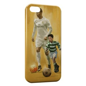 Coque iPhone 5/5S/SE Cristiano Ronaldo Football 57
