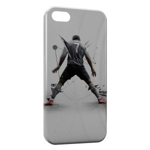 Coque iPhone 5/5S/SE Cristiano Ronaldo Football Art 2