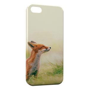 Coque iPhone 5/5S/SE Cute Fox Renard 4