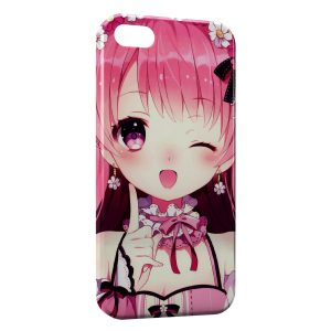 Coque iPhone 5/5S/SE Cute Girl Manga