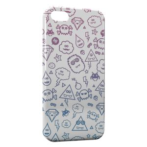 Coque iPhone 5/5S/SE Cute Monsters