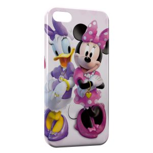 Coque iPhone 5/5S/SE Daisy & Minnie Cartoons