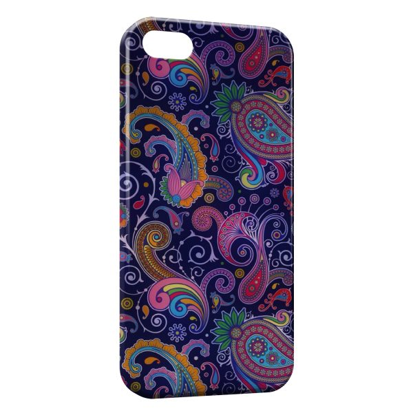 Coque iPhone 5/5S/SE Design Indien Style 6