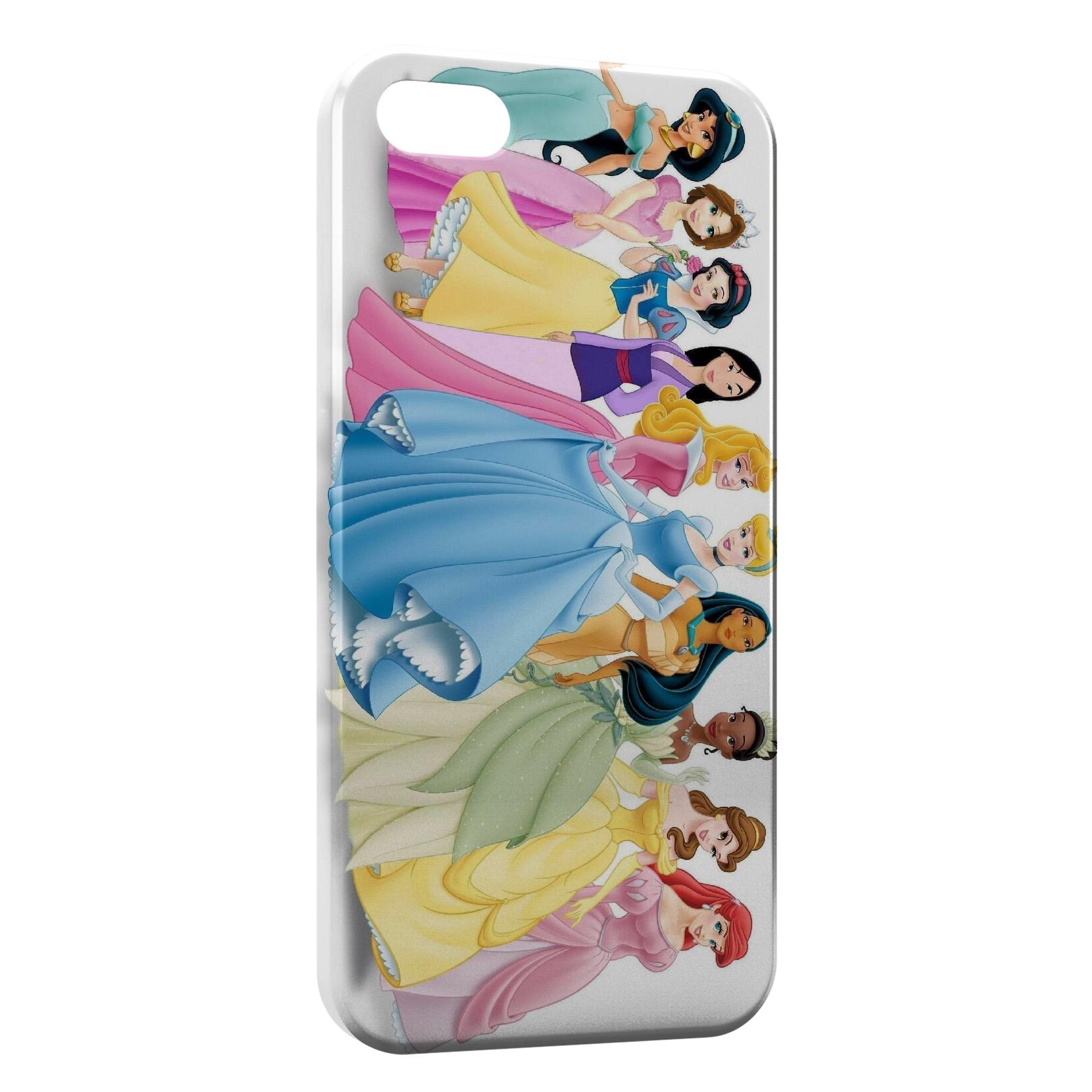 Coque iPhone 55SSE Disney Princess