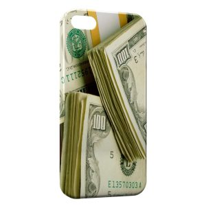 Coque iPhone 5/5S/SE Dollars Money
