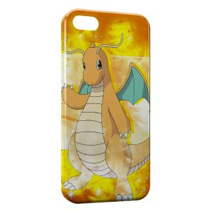 Coque iPhone 5/5S/SE Dracaufeu pokemon 3