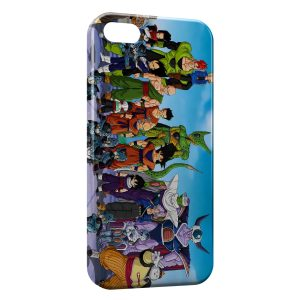Coque iPhone 5/5S/SE Dragon Ball Z Group 2