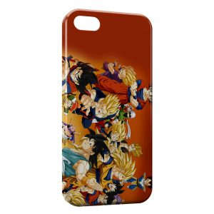 Coque iPhone 5/5S/SE Dragon Ball Z Group
