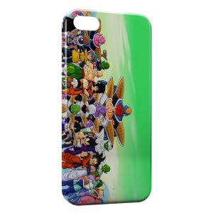 Coque iPhone 5/5S/SE Dragon Ball Z Group 4