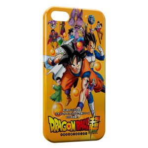Coque iPhone 5/5S/SE Dragonball Z Super Vintage