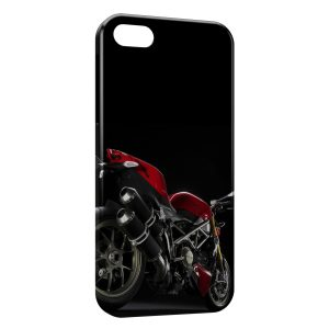 Coque iPhone 5/5S/SE Ducati Streetfighter Red Moto