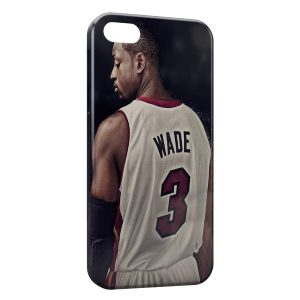 Coque iPhone 5/5S/SE Dwyane Wade Miami Basketball