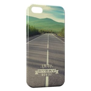 Coque iPhone 5/5S/SE Enjoy Every Moment Road