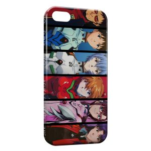 Coque iPhone 5/5S/SE Evangelion 4