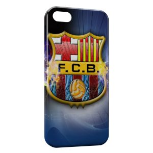 Coque iPhone 5/5S/SE FC Barcelone FCB Football 12