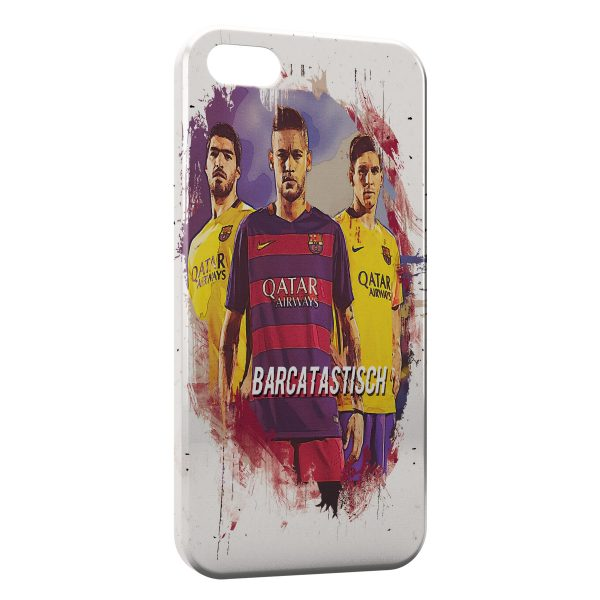 Coque iPhone 5/5S/SE FC Barcelone FCB Football 13 Art