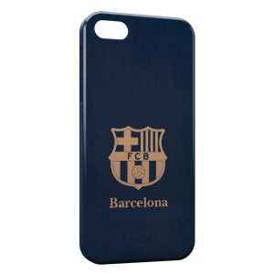 Coque iPhone 5/5S/SE FC Barcelone FCB Football 16