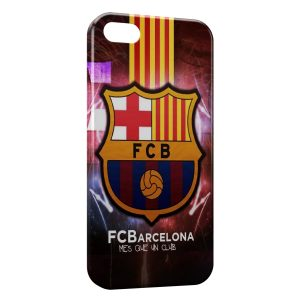 Coque iPhone 5/5S/SE FC Barcelone FCB Football 20