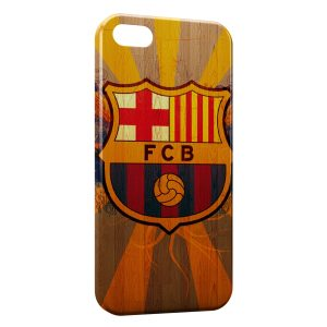 Coque iPhone 5/5S/SE FC Barcelone FCB Football 23