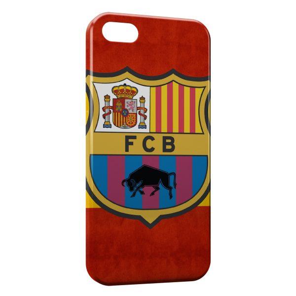 Coque iPhone 5/5S/SE FC Barcelone FCB Football 25