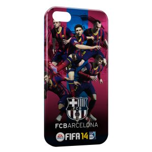 Coque iPhone 5/5S/SE FC Barcelone FCB Football 27