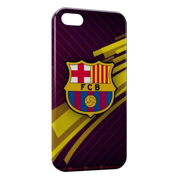 Coque iPhone 5/5S/SE FC Barcelone FCB Football 28
