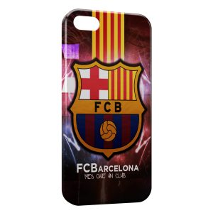 Coque iPhone 5/5S/SE FC Barcelone FCB Football 30