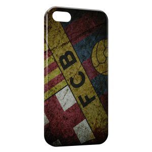 Coque iPhone 5/5S/SE FC Barcelone FCB Football 39