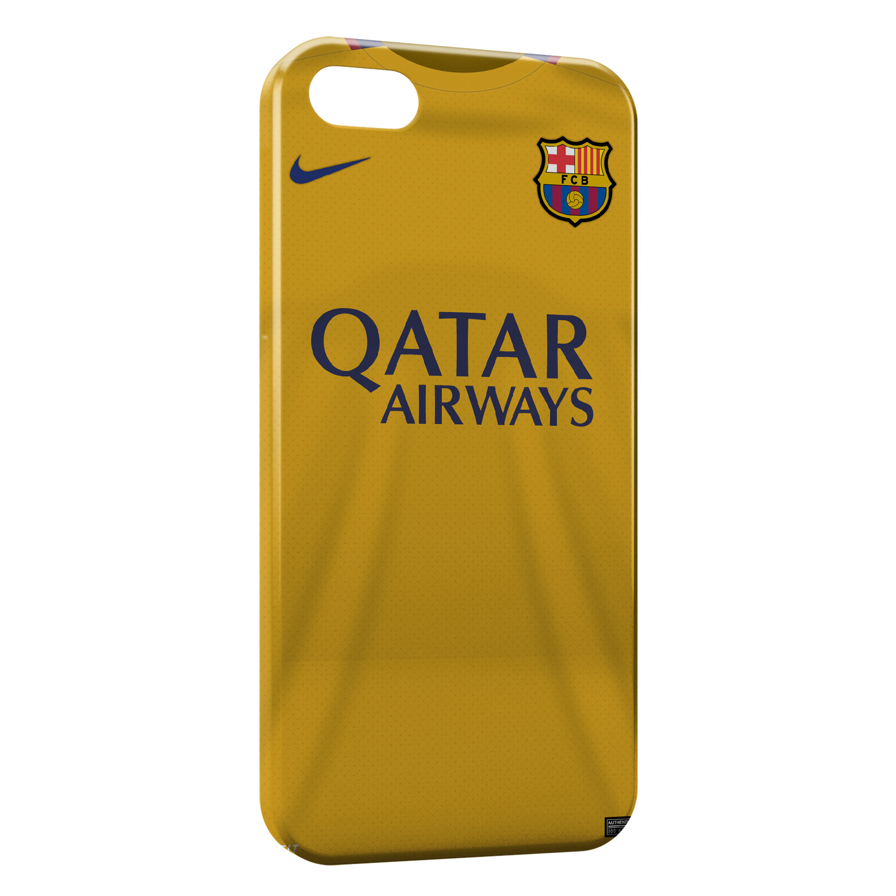 Coque iPhone 55SSE FC Barcelone FCB Football 44