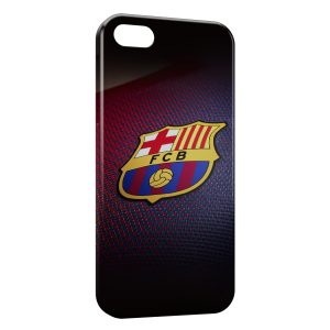 Coque iPhone 5/5S/SE FC Barcelone Football 2