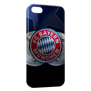 Coque iPhone 5/5S/SE FC Bayern de Munich Football 11