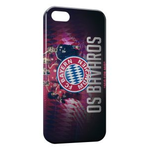 Coque iPhone 5/5S/SE FC Bayern de Munich Football 27