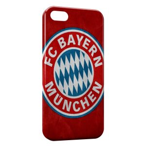Coque iPhone 5/5S/SE FC Bayern de Munich Football Red 12