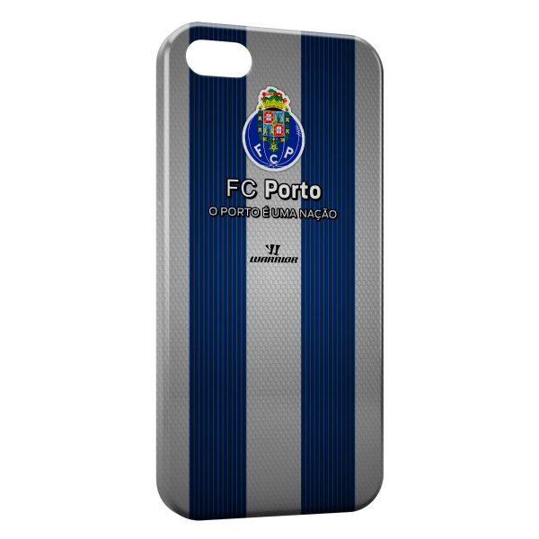 Coque iPhone 5/5S/SE FC Porto Logo Design 2