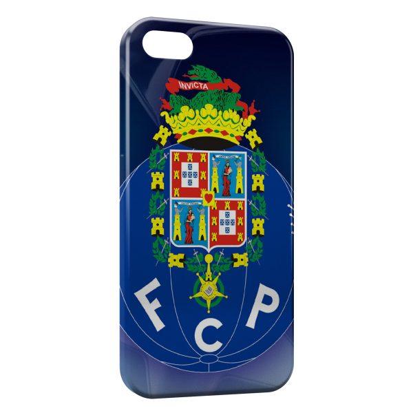 Coque iPhone 5/5S/SE FC Porto Logo Design 4