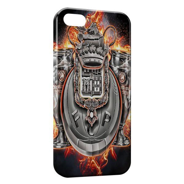 Coque iPhone 5/5S/SE FC Porto Logo Design 6