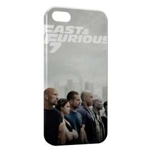 Coque iPhone 5/5S/SE Fast & Furious 7 Paul Walker