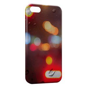 Coque iPhone 5/5S/SE Fenetre & Pluie sur la route