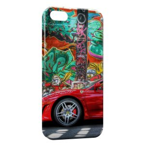 Coque iPhone 5/5S/SE Ferrari 3