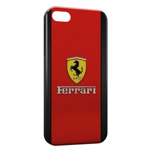 Coque iPhone 5/5S/SE Ferrari
