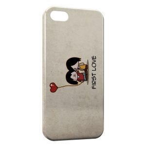 Coque iPhone 5/5S/SE First Love