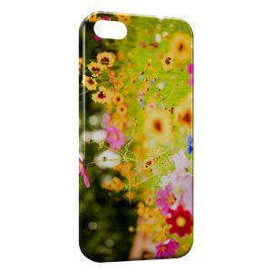Coque iPhone 5/5S/SE Fleurs et Nature