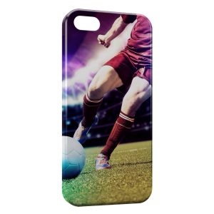 Coque iPhone 5/5S/SE Football Style Art