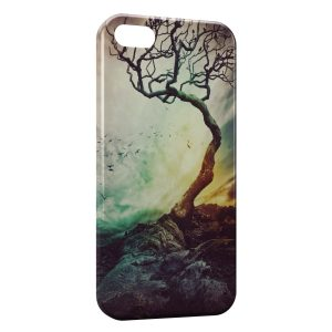 Coque iPhone 5/5S/SE Foret Horreur