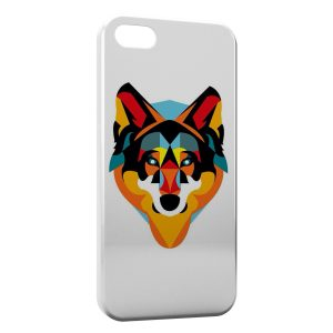 Coque iPhone 5/5S/SE Fox Renard Design Style Graphic