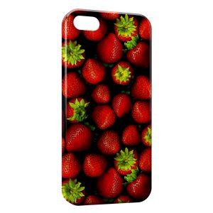Coque iPhone 5/5S/SE Fraises