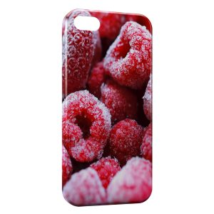 Coque iPhone 5/5S/SE Framboises Gelées