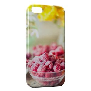 Coque iPhone 5/5S/SE Framboises Yumi